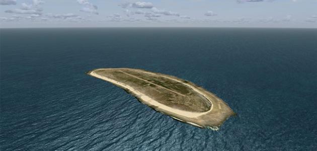 صورة جديد جزيرة في المحيط الهادي