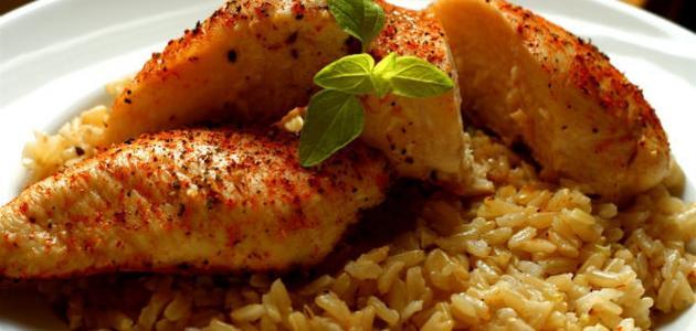 صورة جديد طريقة عمل صدور الدجاج مع الأرز