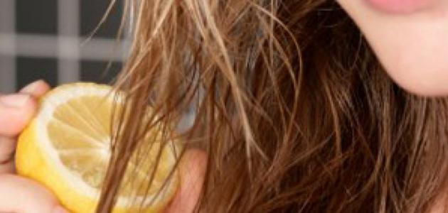 صورة جديد تفتيح الشعر بالليمون