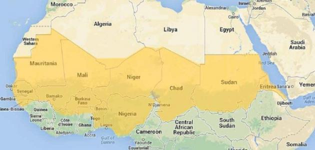 صورة جديد مفهوم دول الساحل الأفريقي
