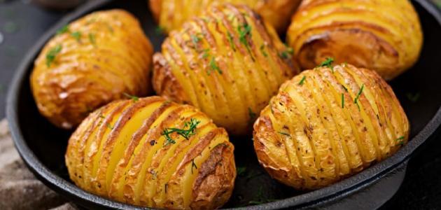 صورة جديد طريقة شوي البطاطس بالفرن