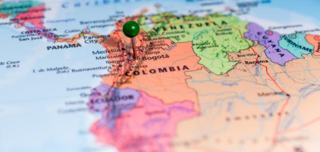 صورة جديد أين تقع كولومبيا