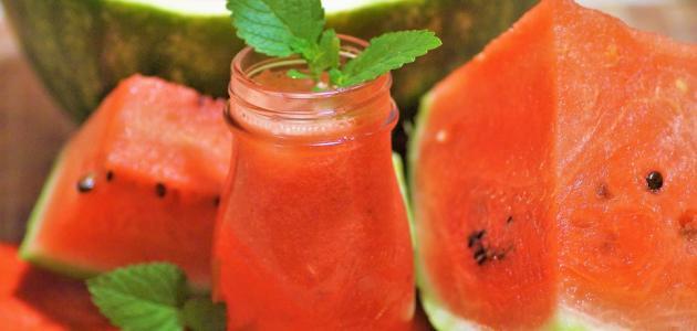 صورة جديد طريقة عصير البطيخ