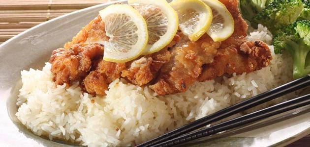 صورة جديد طريقة عمل ارز السمك