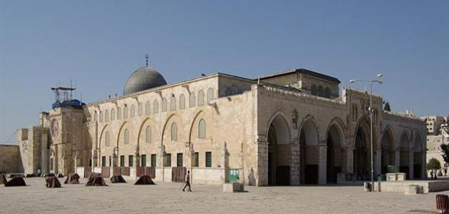 صورة جديد من بنى المسجد الأقصى
