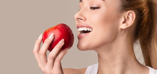 صورة جديد فوائد أكل التفاح قبل النوم
