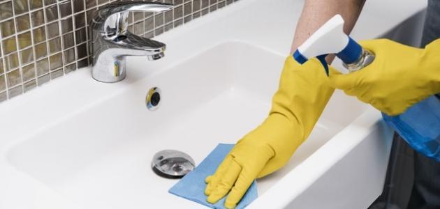 صورة جديد كيفية تنظيف سيراميك الحمام