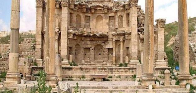 صورة جديد مدينة جرش الأثرية