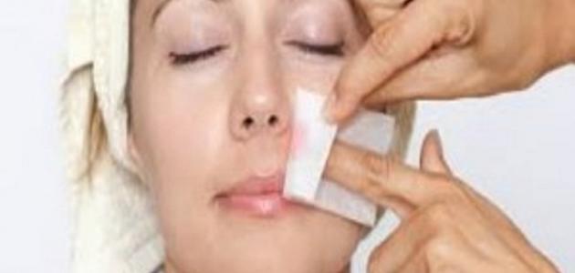 صورة جديد طريقة إزالة شعر الوجه بالعسل