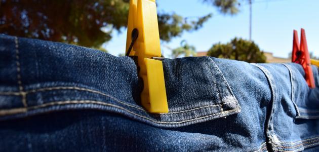 صورة جديد كيفية إزالة البقع من الجينز