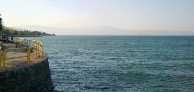 صورة جديد كم عمق بحيرة طبريا