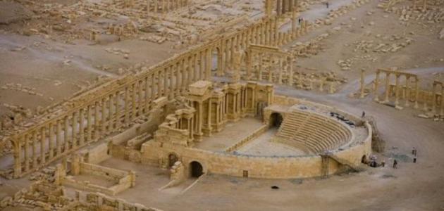 صورة جديد أين تقع مدينة تدمر
