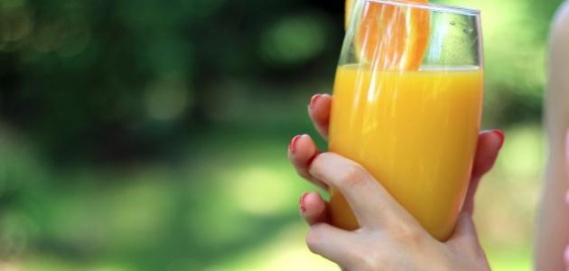 صورة جديد فوائد عصير البرتقال للوجه