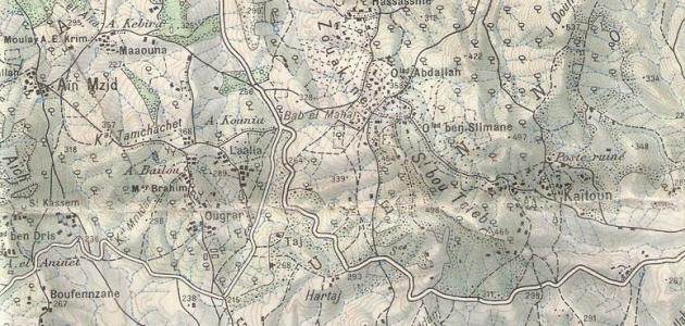 صورة جديد تعريف الخريطة الطبوغرافية
