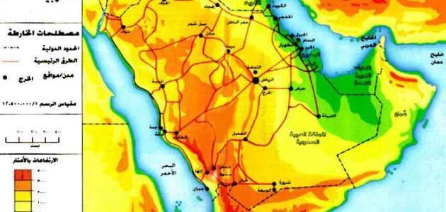صورة جديد أين تقع شبه الجزيرة العربية ولماذا سميت بهذا الاسم