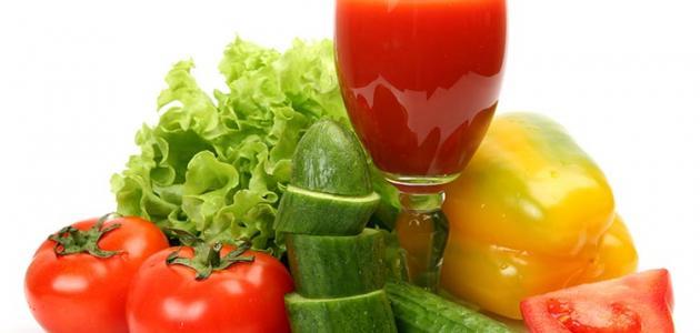 صورة جديد فوائد عصير الخضروات