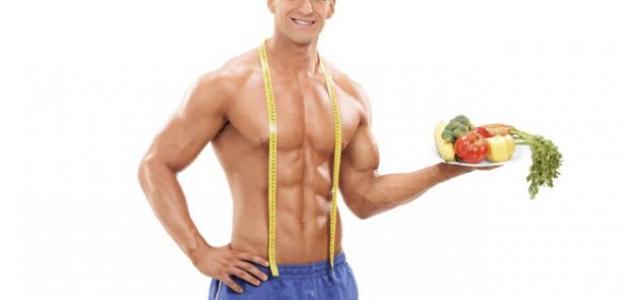 صورة جديد نظام غذائي لجسم رياضي