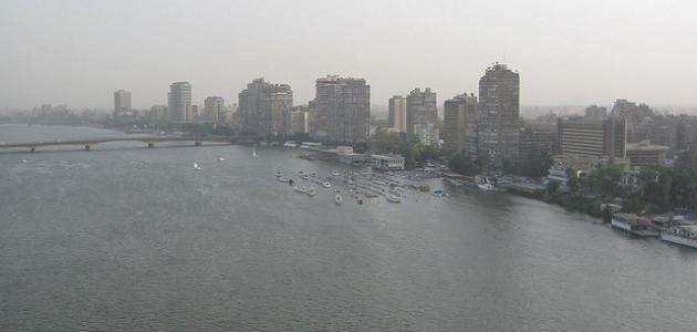 صورة جديد تلوث نهر النيل
