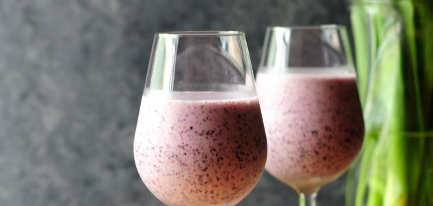 صورة جديد وصفة عصير التوت – فيديو