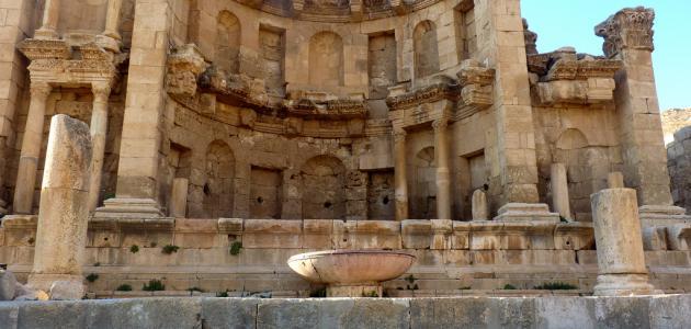 صورة جديد آثار مدينة جرش