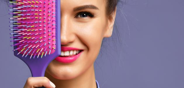 صورة جديد كيف أنظف فرشاة الشعر