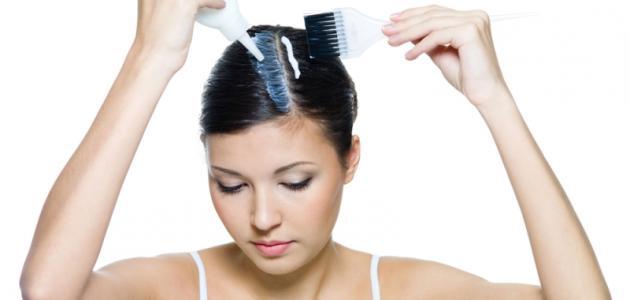 صورة جديد وصفة طبيعية لإزالة صبغة الشعر