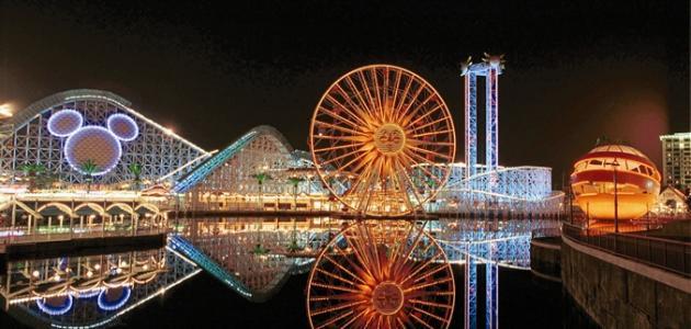 صورة جديد مدينة الأحلام ديزني لاند في كاليفورنيا