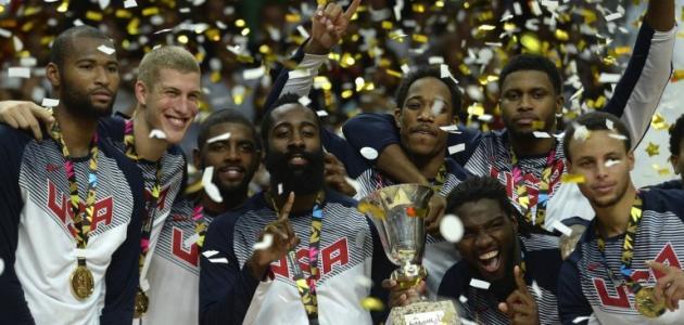 صورة جديد كأس العالم لكرة السلة