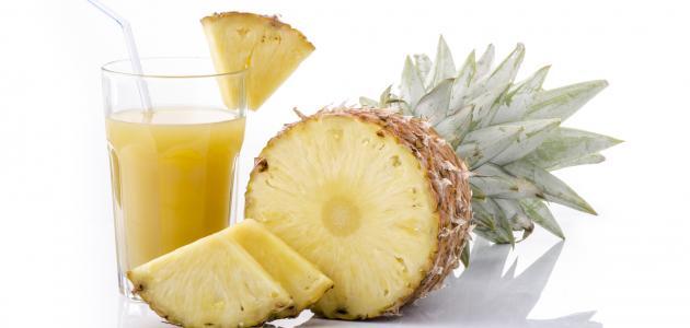 صورة جديد طريقة تحضير عصير الأناناس