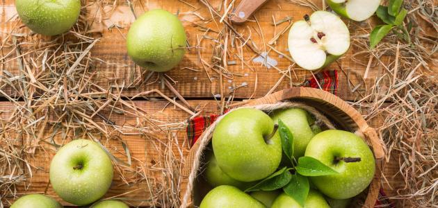 صورة جديد التفاح الأخضر للرجيم