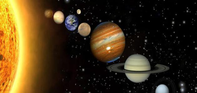صورة جديد كيف تكونت المجموعة الشمسية