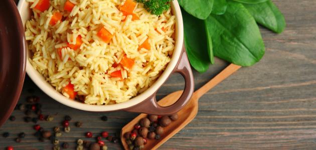 صورة جديد طريقة تحضير أرز أبيض بالجزر