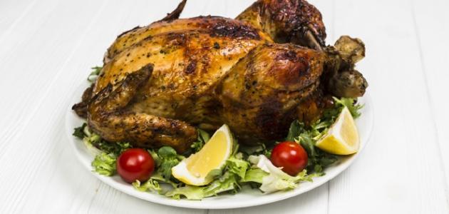 صورة جديد طريقة عمل الدجاج المحشي بالبصل والسماق
