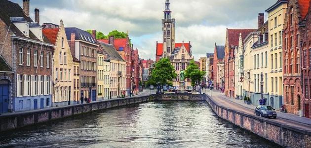 صورة جديد مدينة بروج في بلجيكا
