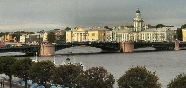 صورة جديد مدينة بطرسبورغ الروسية