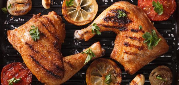 صورة جديد طريقة سلق الدجاج وتحميره