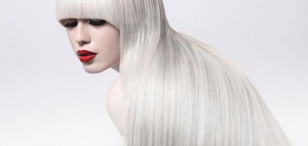صورة جديد طريقة صبغ الشعر أشقر ثلجي
