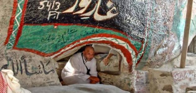 صورة جديد أين يقع غار ثور بالنسبة لمكة