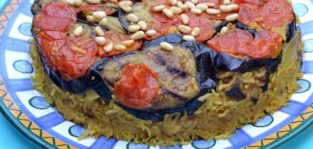 صورة جديد طريقة طبخ مقلوبة الباذنجان