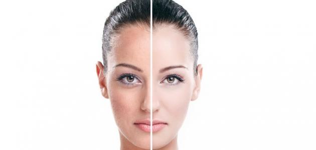 صورة جديد أفضل خلطة لتبييض الوجه طبيعياً