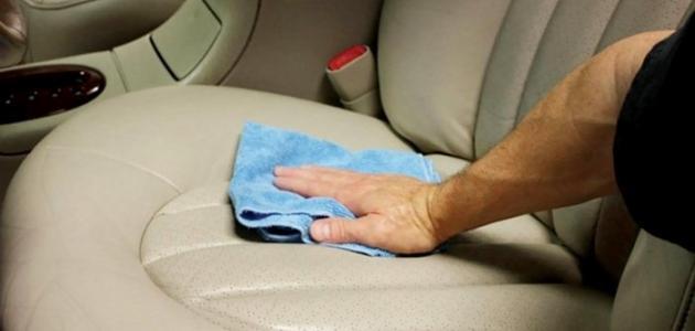 صورة جديد كيف أنظف كنب الجلد