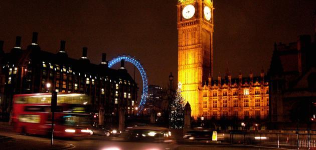صورة جديد أين توجد ساعة بيج بن