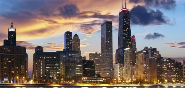 صورة جديد أين توجد شيكاغو