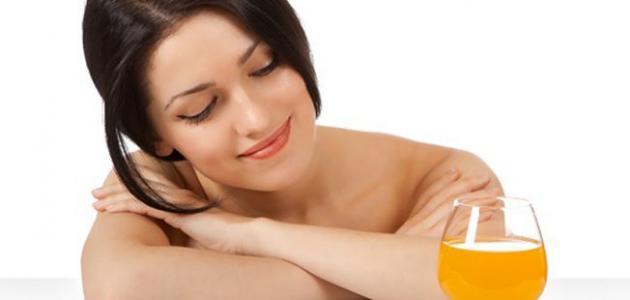 صورة جديد فوائد عصير البرتقال للشعر