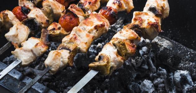 صورة جديد أكلات مشوية على الفحم