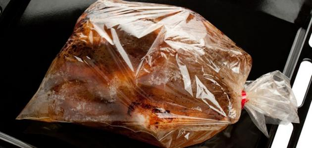صورة جديد طريقة عمل دجاج بالكيس