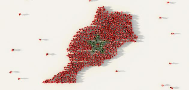 صورة جديد عدد سكان المغرب