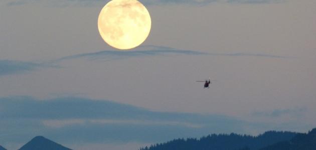 صورة جديد عبارات عن ضوء القمر