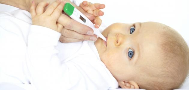 صورة جديد أسباب ارتفاع درجة حرارة الجسم عندالرضع