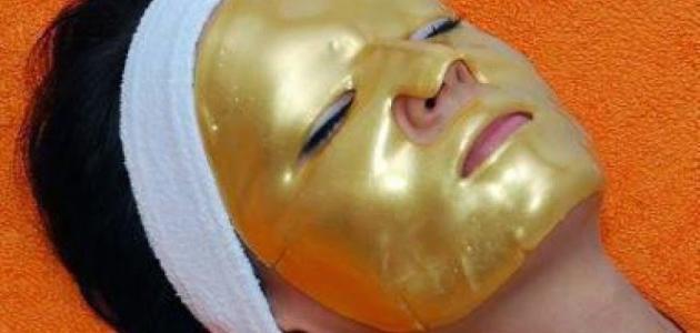 صورة جديد طريقة استخدام قناع الذهب